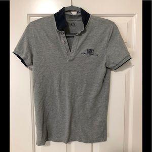 Armani Exchange designer polo shirt S